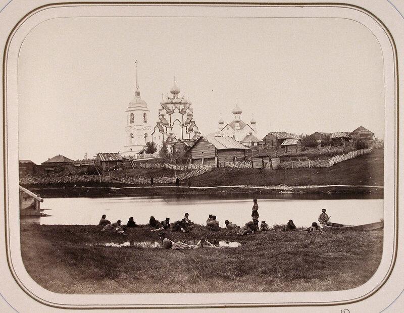 1865 церковь и колокольня Вытегорского погоста.jpg