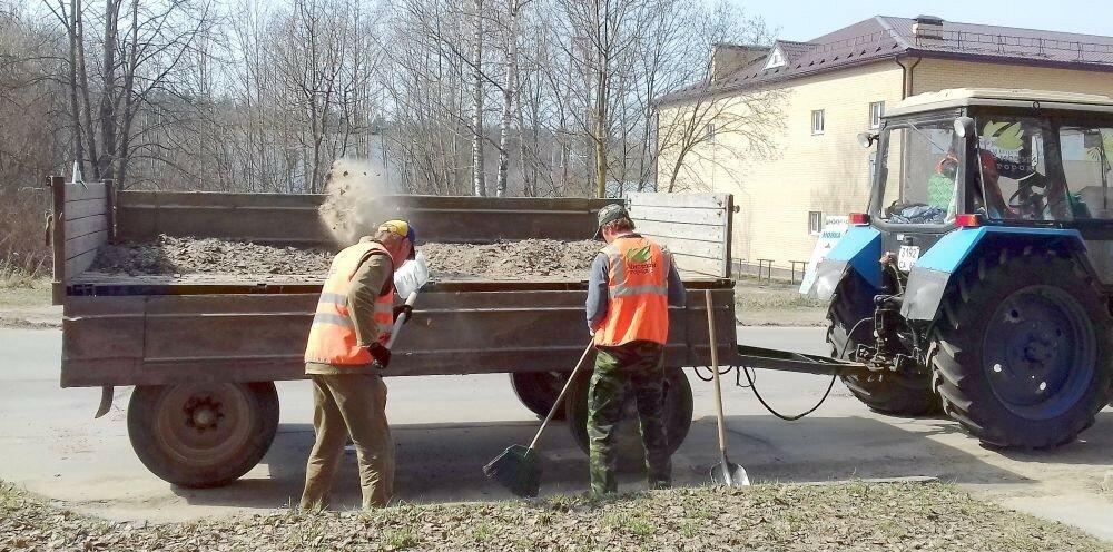 """ООО """"Чистый город"""" на уборке города"""