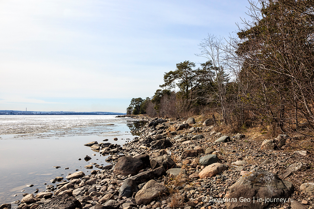 берег Онежского озера у Петрозаводска