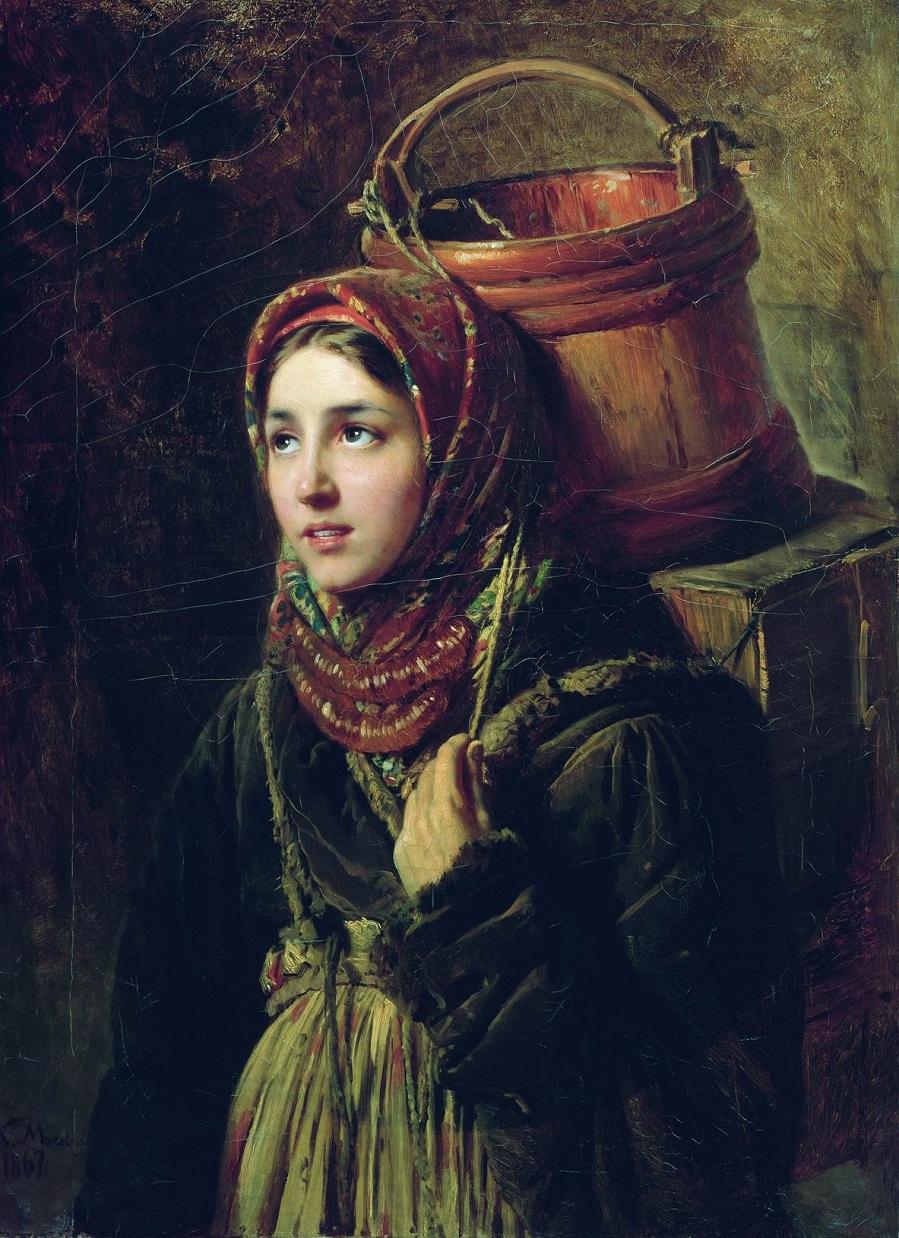 Селедочница. 1867  Государственный Русский музей, С.-Петербург.