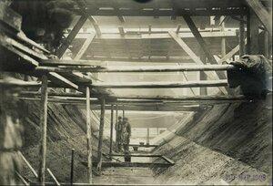 10 марта 1908. Прокладка подземных туннелей между цехами Ново-ткацкой фабрики