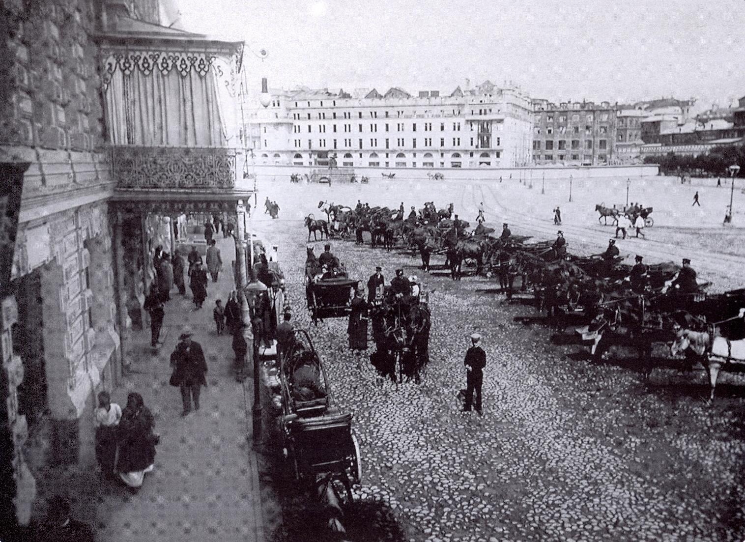 Воскресенская площадь. 1902