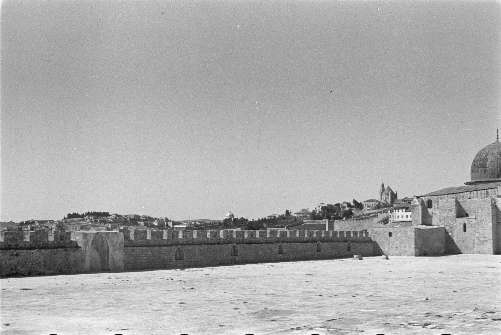 Крепостная стена на Храмовой горе