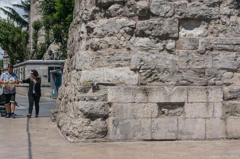Колонна Константина в Стамбуле
