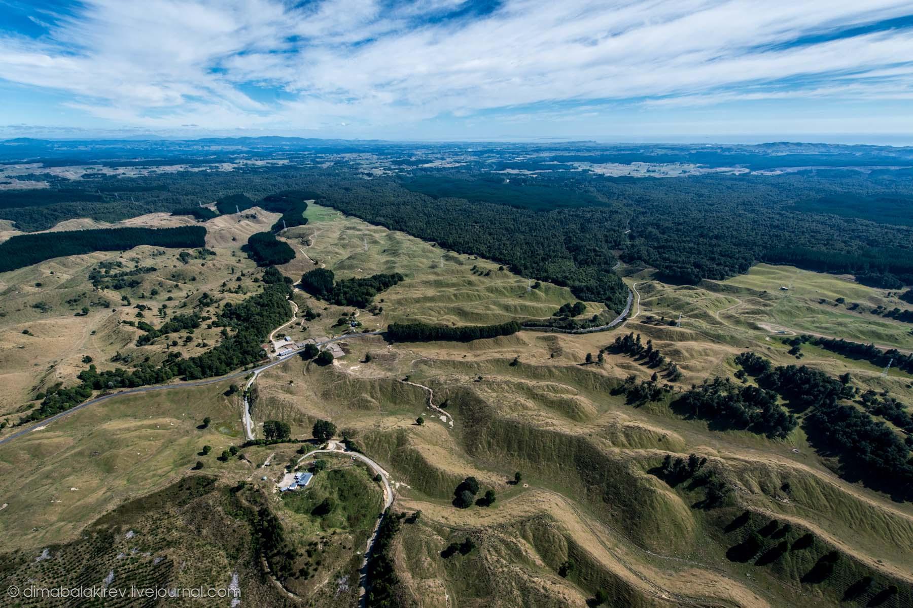 Полёт на White Island, Новая Зеландия