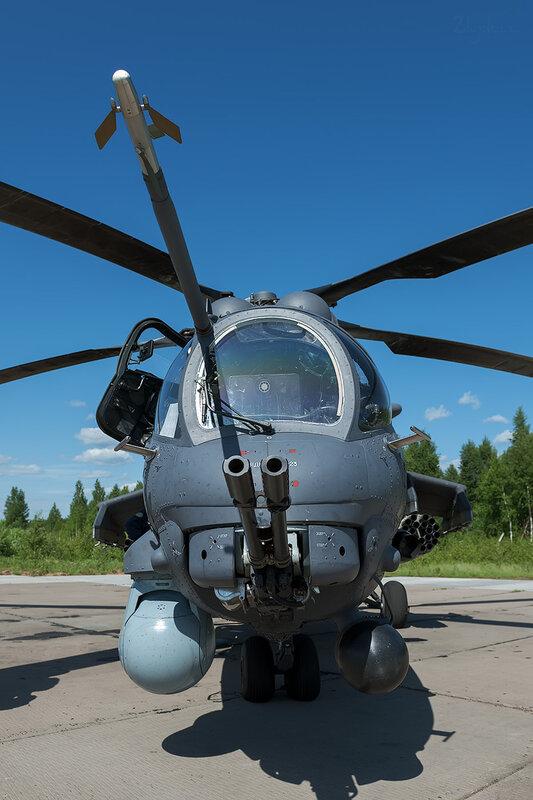 Миль Ми-35ПМ (33 жёлтый) D706715