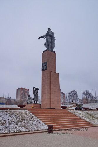 Мемориал героям фронта и тыла, Иваново