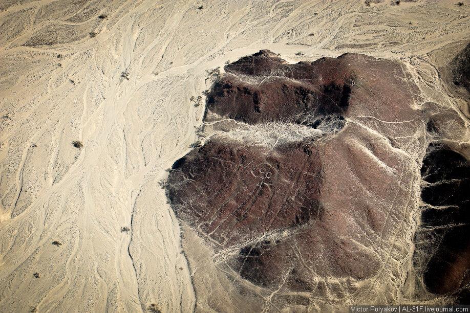 Линии Наски / Nazca Lines / астронавт