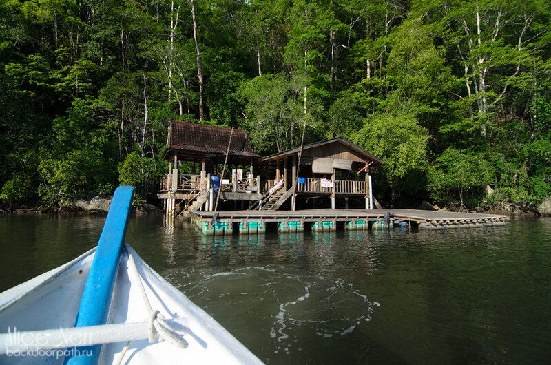 Домики и прочие строения на воде