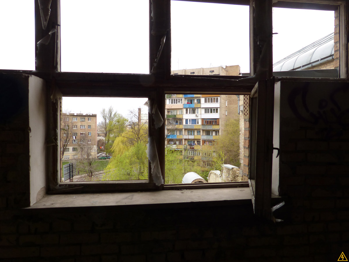 Недостроенная типография в Киеве