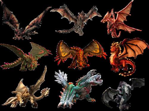 Клипарт дракон