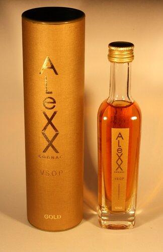 Коньяк Cognac Alexx VSOP Gold