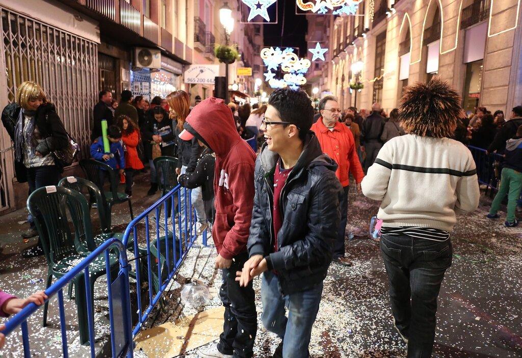 Аликанте. Шествие (Кавалькада) трех Волхвов (Cabalgata de Reyes Magos de Alcoy)