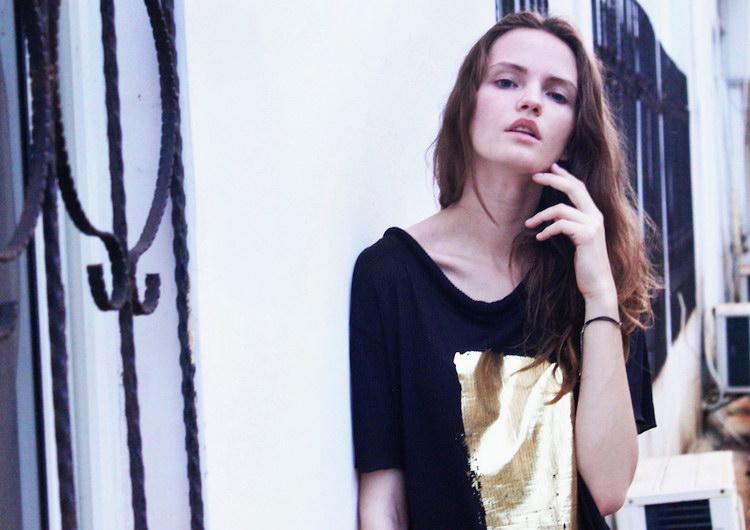 Дина Козловска в фотосессии Гуй Коста