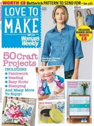 Журнал Love to make with Woman's Weekly - June 2015