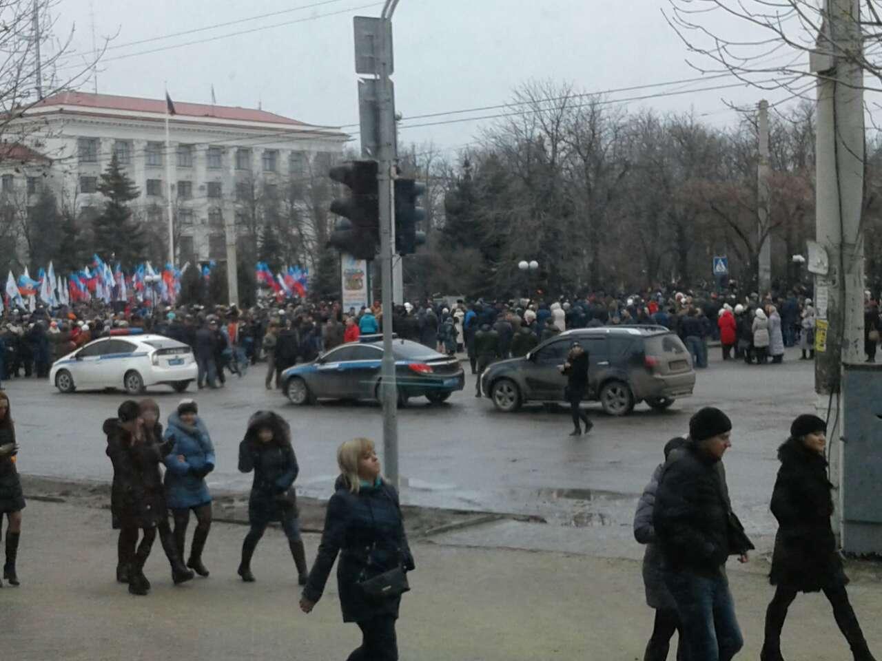 луганск против блокады