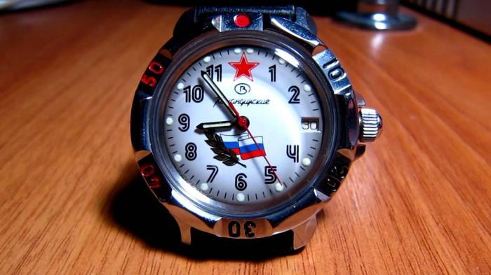 История Командирских часов