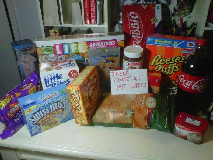 Подготовка  к встрече с ураганом