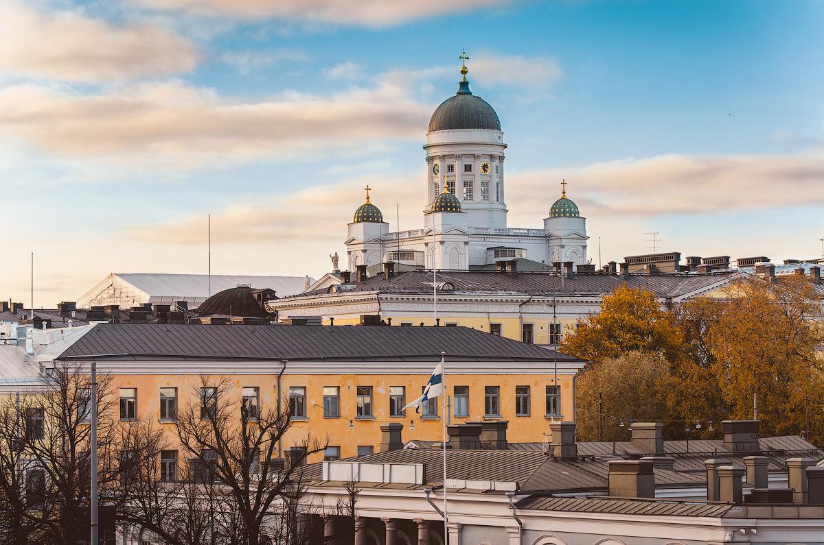 Хельсинки за один день, Кафедральный собор