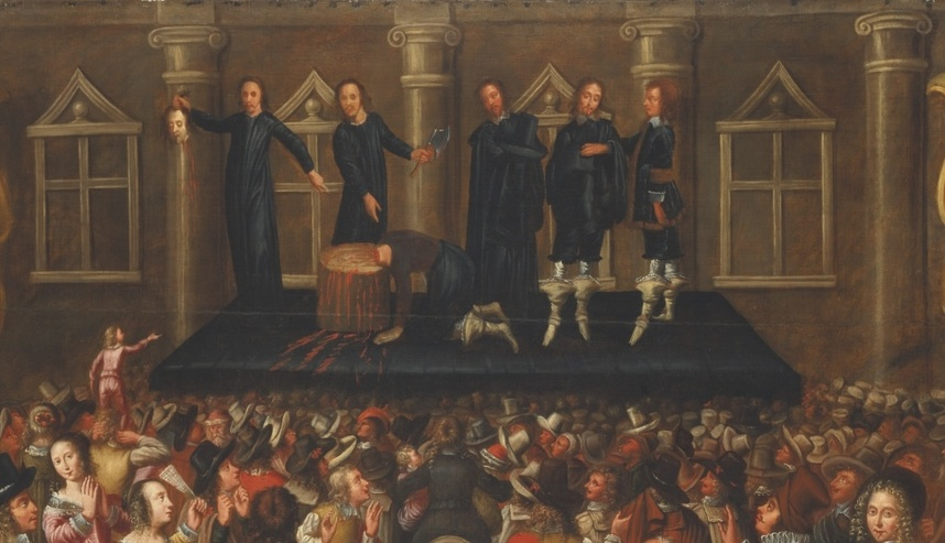 a history of the execution of charles i in england He was the second son of james vi of scotland/james i of england and five eldest children of charles i - mary, james ii, charles the execution of charles i.