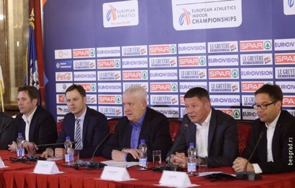 Белград, Чемпионат по легкой атлетике