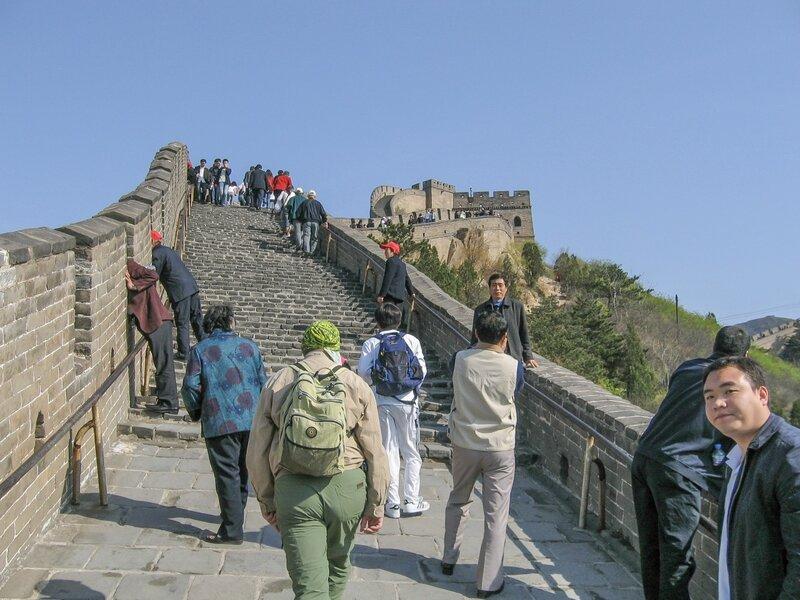 Лестница, Великая китайская стена, Бадалин