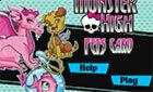 Карты Монср Хай Питомцы (Monster High Pets Card)