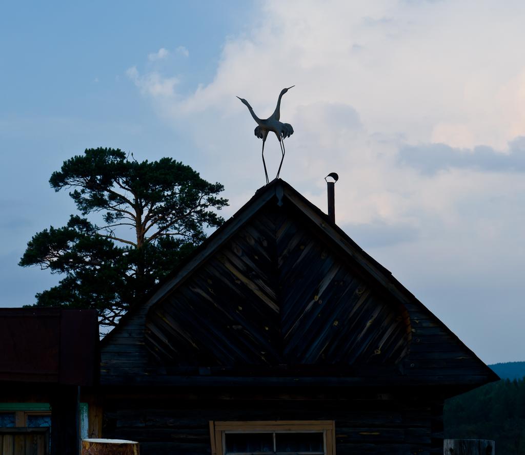 12. Дом с журавлями в поселке Отнурок