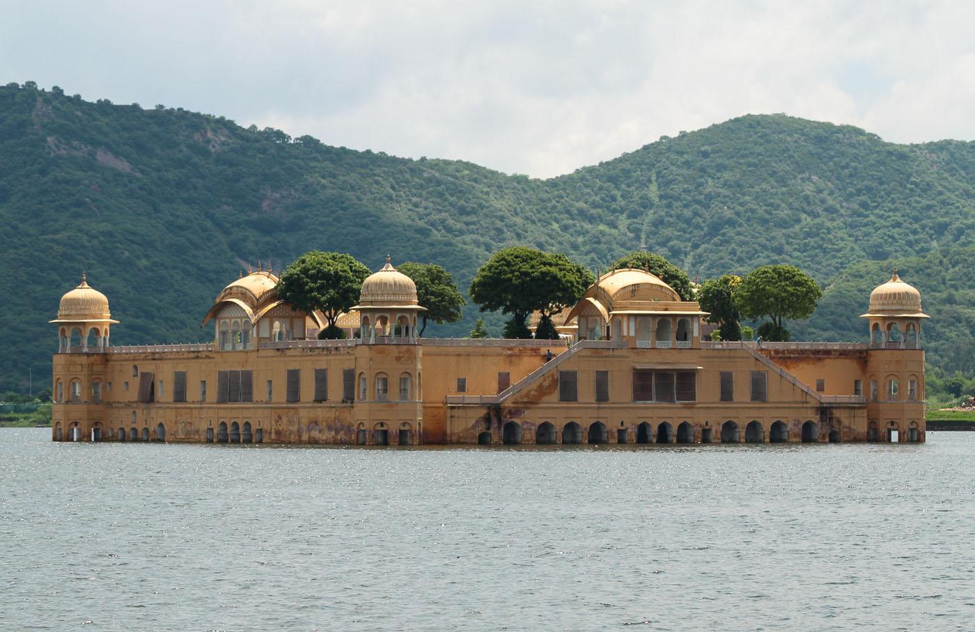 Фотография 21. Плавающий дворец Джал-Махал. Отчеты об экскурсии в Джайпур.