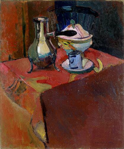 Посуда на столе , 1900.jpg