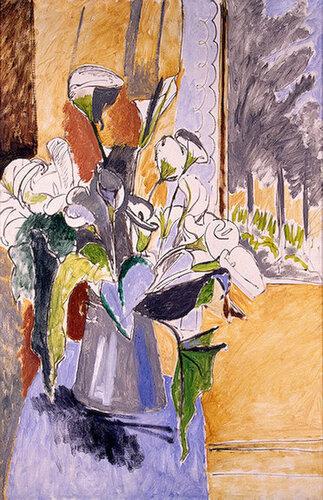 Букет цветов. Каллы , Около 1912.jpg