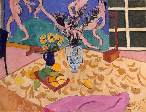 Фрукты, цветы, панно ''Танец'' , 1909.jpg