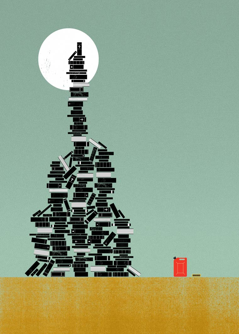 Des illustrateurs expliquent des mots etranges et peu connus avec de jolis posters