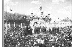 Освящение часовни во имя Святого Благоверного Князя Александра Невского.30 августа 1892