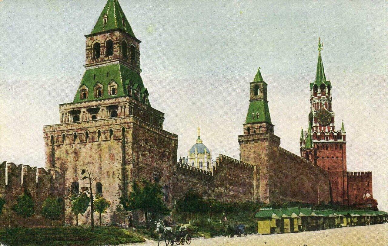 Кремль. Стены ограды Кремля