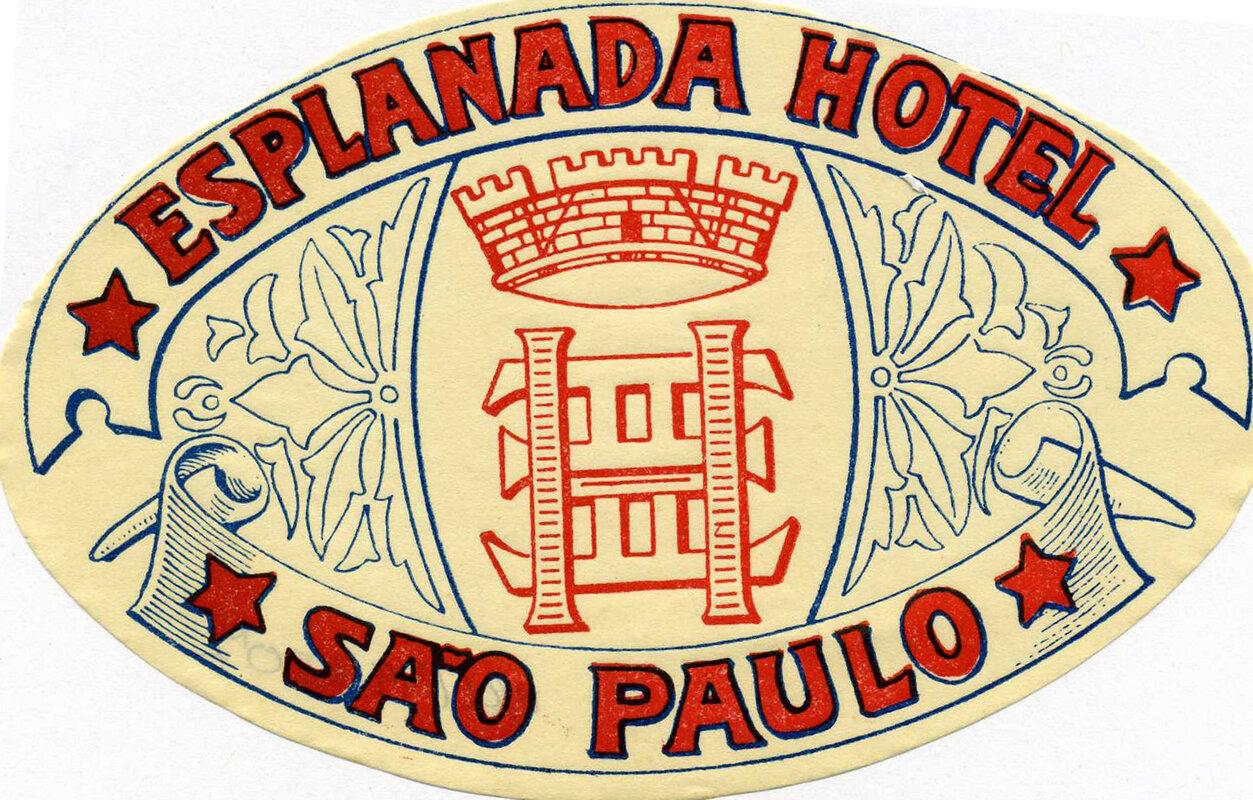 Бразилия, Сан-Паулу. Гостиница «Esplanada»
