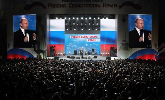 Владимир Путин благодарен крымчанам за решение о воссоединении с Россией