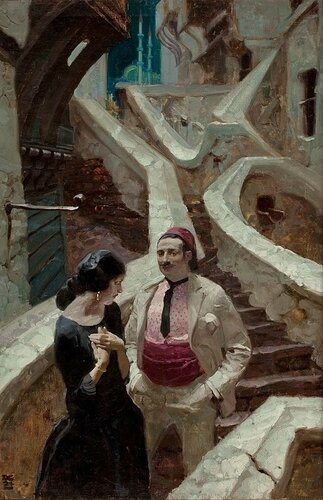 Dean Cornwell - City of Temptation