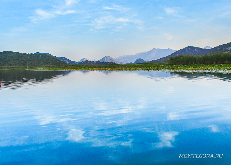Речная прогулка вдоль Скадарского озера