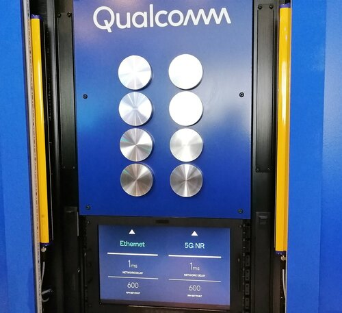 Демо-стенд Qualcomm / 5G for Industry 4.0