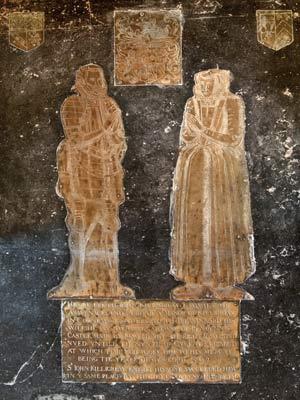John and Elizabeth Killigrew tomb