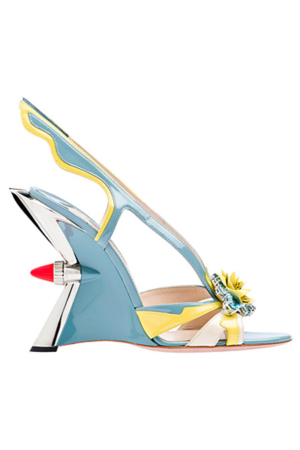 When Prada uses cult classic cars to create High Heels
