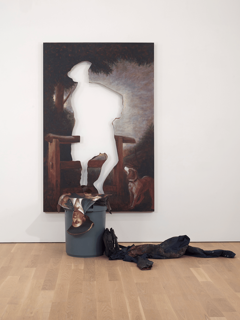 art empty kingdom gallery painting Titus Kaphar website