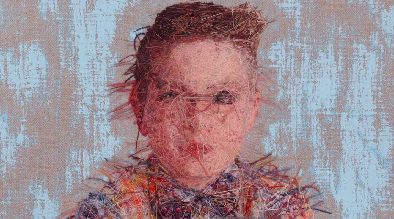 A Studio Interview with Embroidery Portrait Artist Cayce Zavaglia
