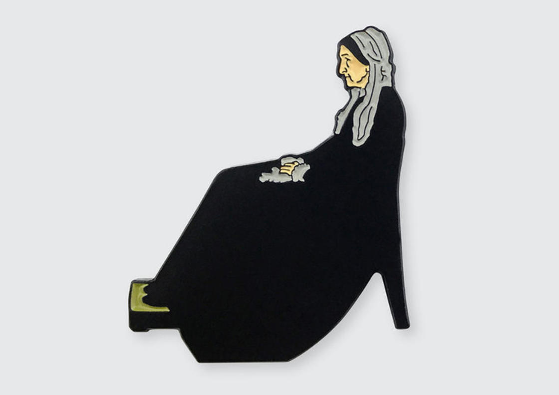 Pin Museum – Famous paintings become a collection of cute pins