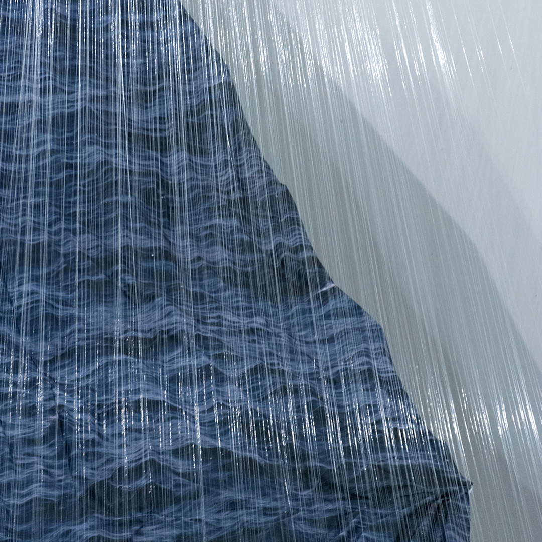 Suspended Ocean Wave Installations by Miguel Rothschild
