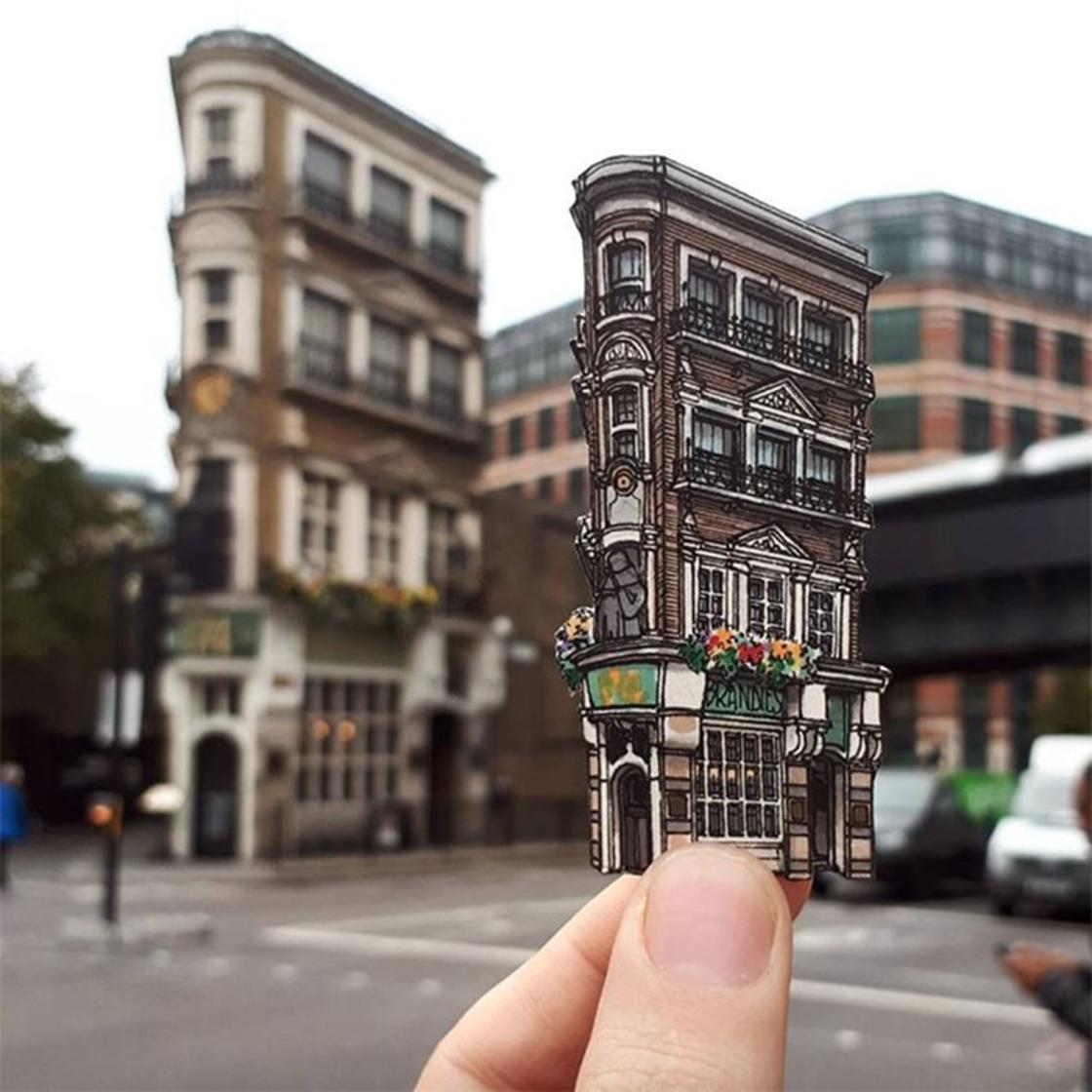 Artist pays tribute to iconic London pubs with cute illustrations (12 pics)