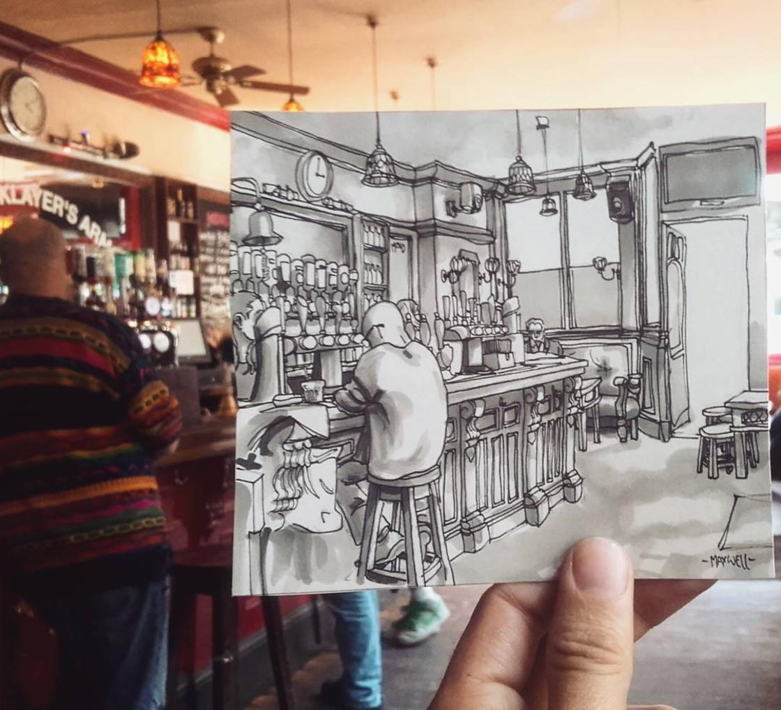 Artist pays tribute to iconic London pubs with cute illustrations