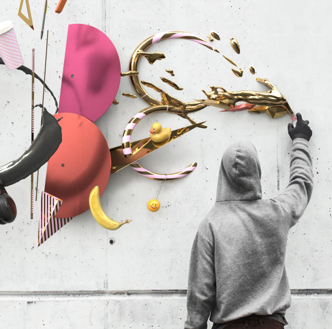 Graffiti 3D, motion design and creativity – Interview with Nicolas Ouvrier