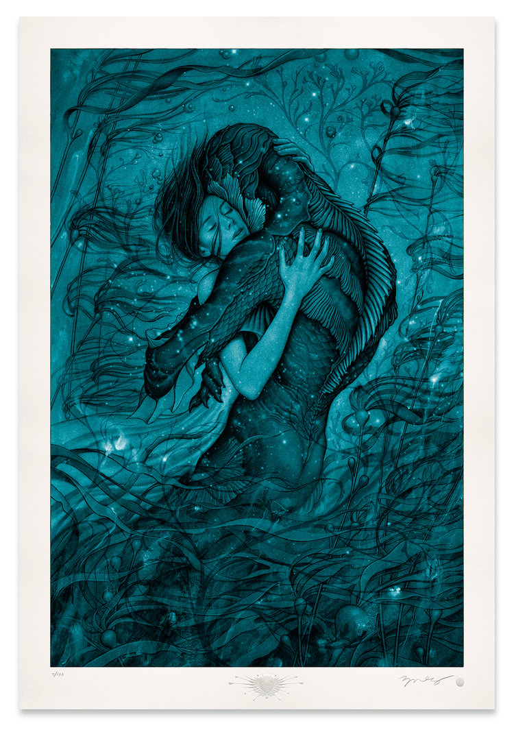 "Releases: James Jean – ""The Shape of Water"" Print (5 pics)"